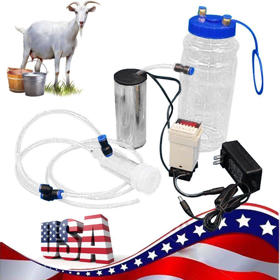 Ebay Sponsored 2l 1 2 Gal Goat Milker Electric Impulse Type Sheep