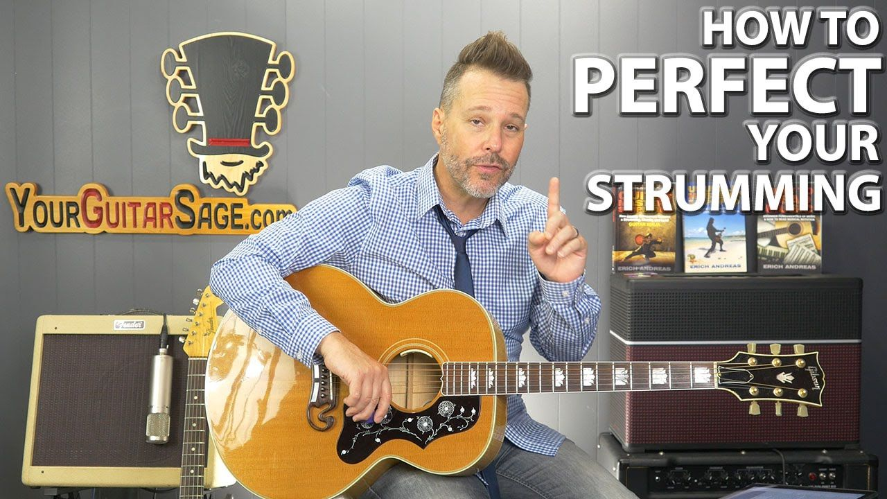 How to perfect your strumming without ever finding