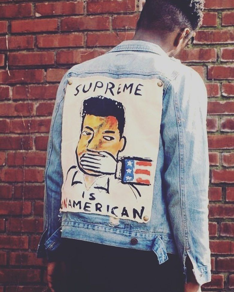 10f8eb35 SUPREME IS UNAMERICAN | FaSHiOn | Streetwear fashion, Fashion, Mens ...
