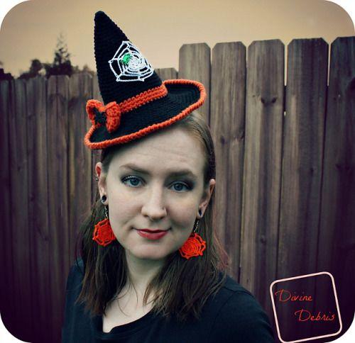 Winifred Hat – a free, spooky crochet pattern by Devine Debris ...