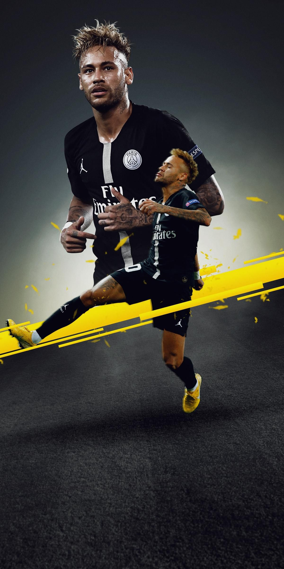 Pin de Sai Prem em Sports wallpapers Futebol neymar