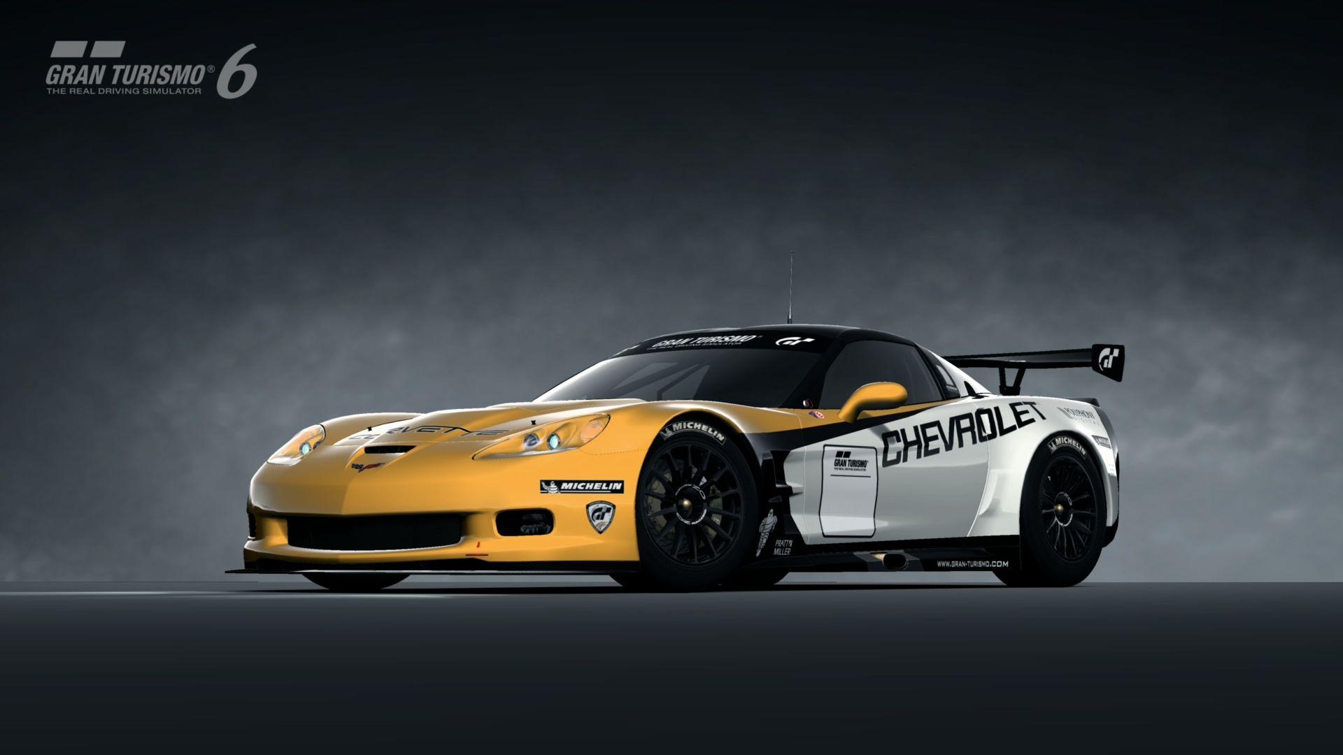 Chevrolet Corvette Zr1 C6 Lm Race Car 09