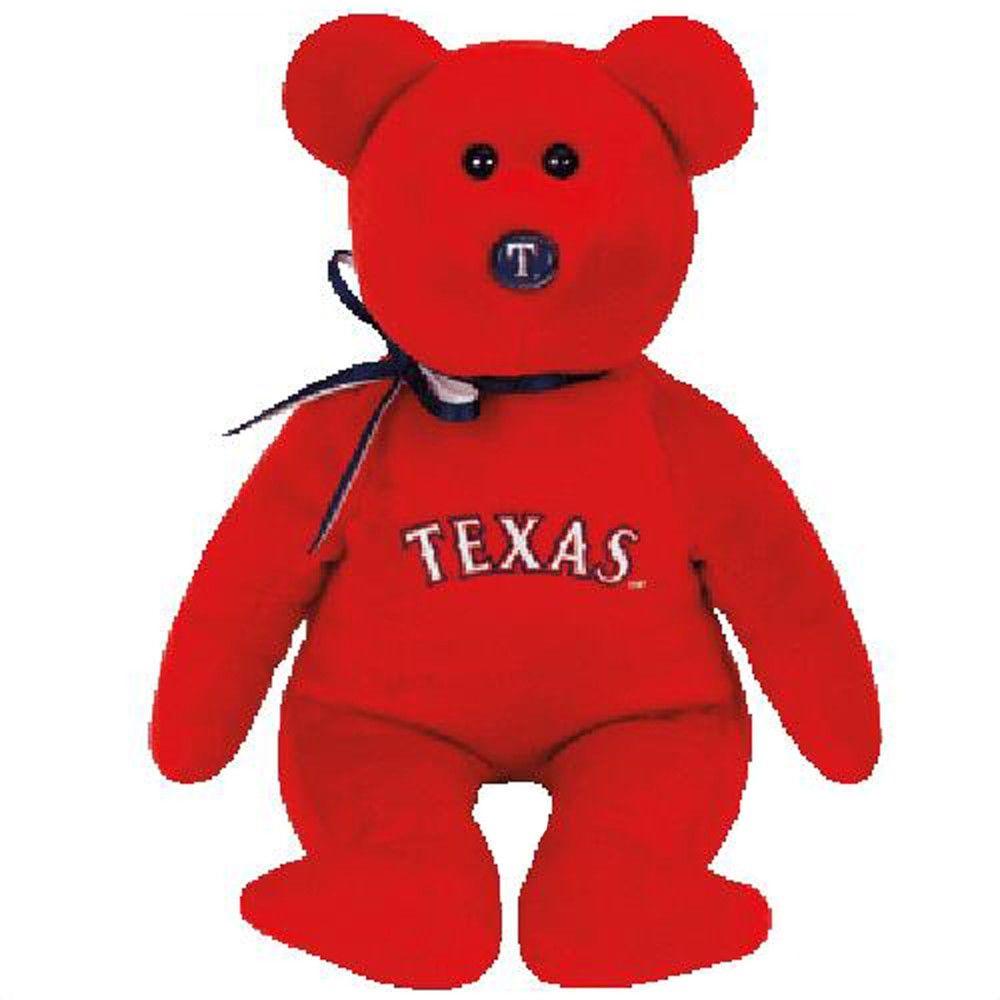 Bear Stripers texas rangers, atlanta braves teddy bear plush stuffed 15cm