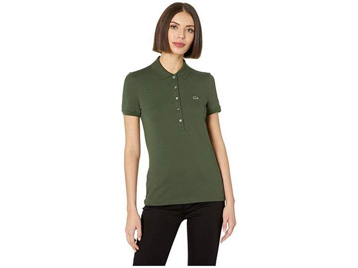 597a9807 Lacoste Classic Short Sleeve Slim Fit Stretch Pique Polo | Products ...