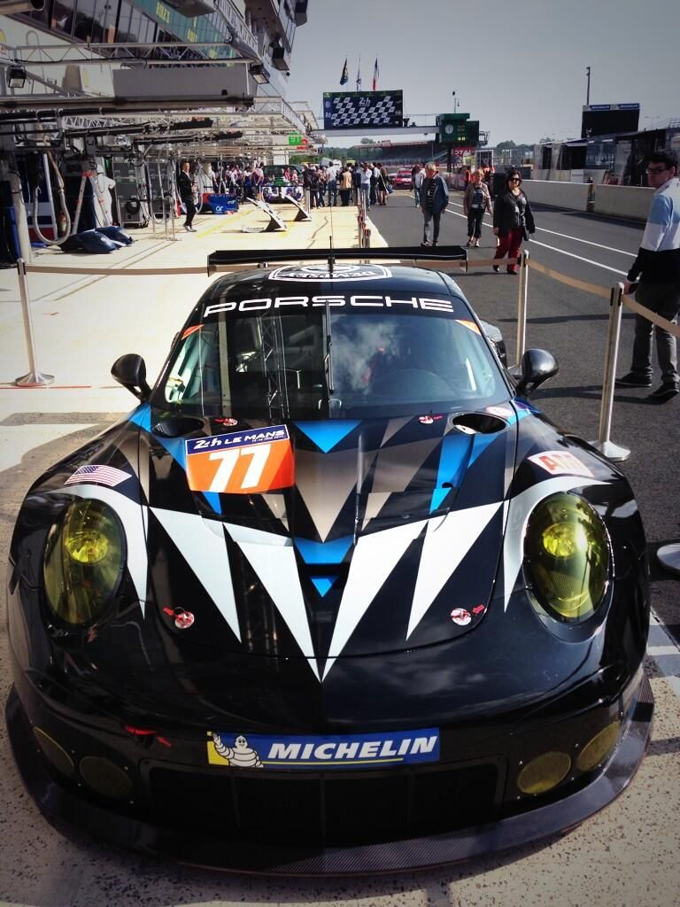 Porsche Dempsey Racing Moose 24h Le Mans 2014 Cars