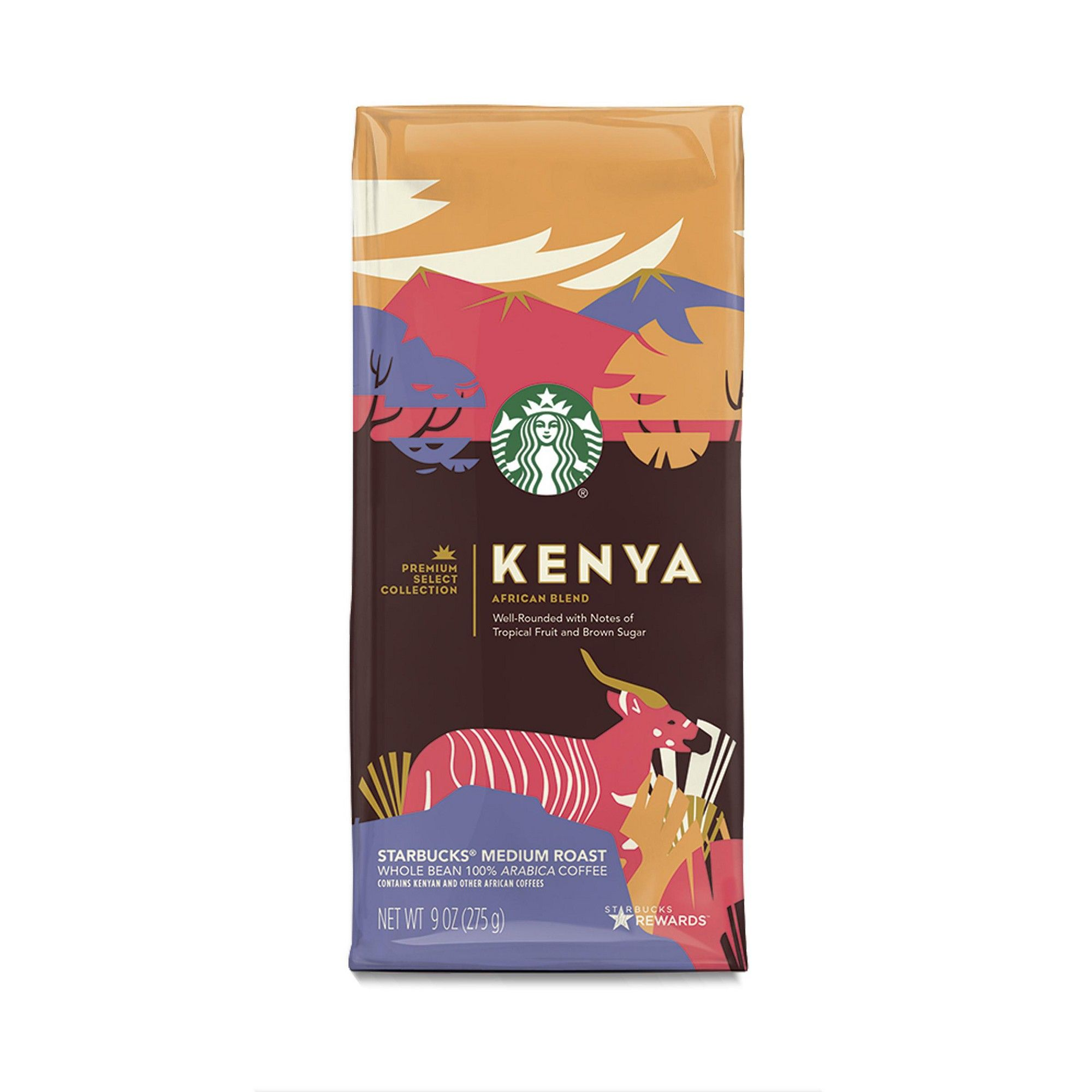 Starbucks Kenya Single Origin Medium Roast Whole Bean