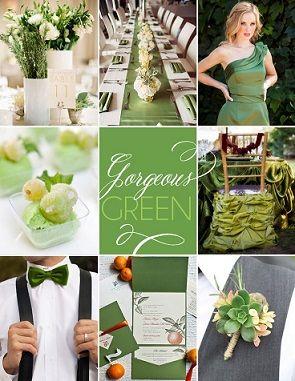 「緑(グリーン)」をテーマカラーにした結婚式のアイデア特集!ウェデイングドレスや、ウェディングアイテムをかわいい画像つきでご紹介していきます♪披露宴会場の