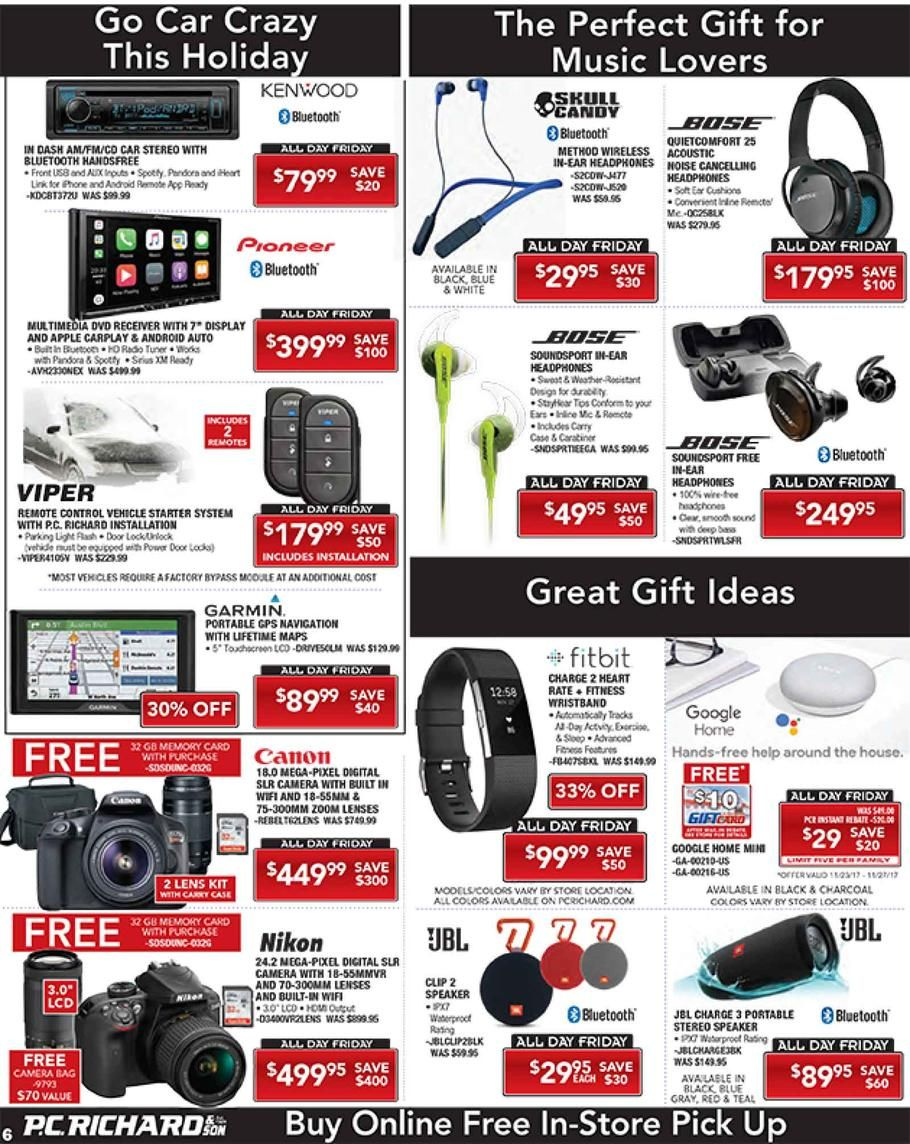 Pc Richard Black Friday 2017 Ads And Deals Save On A Wide Selection Of Appliances And Electronics Over Pc Richards Black Pc Richards Richard Black Black Friday