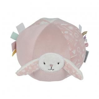 Little Dutch Baby Ball mit Rassel Hase Adventure rosa , # ...