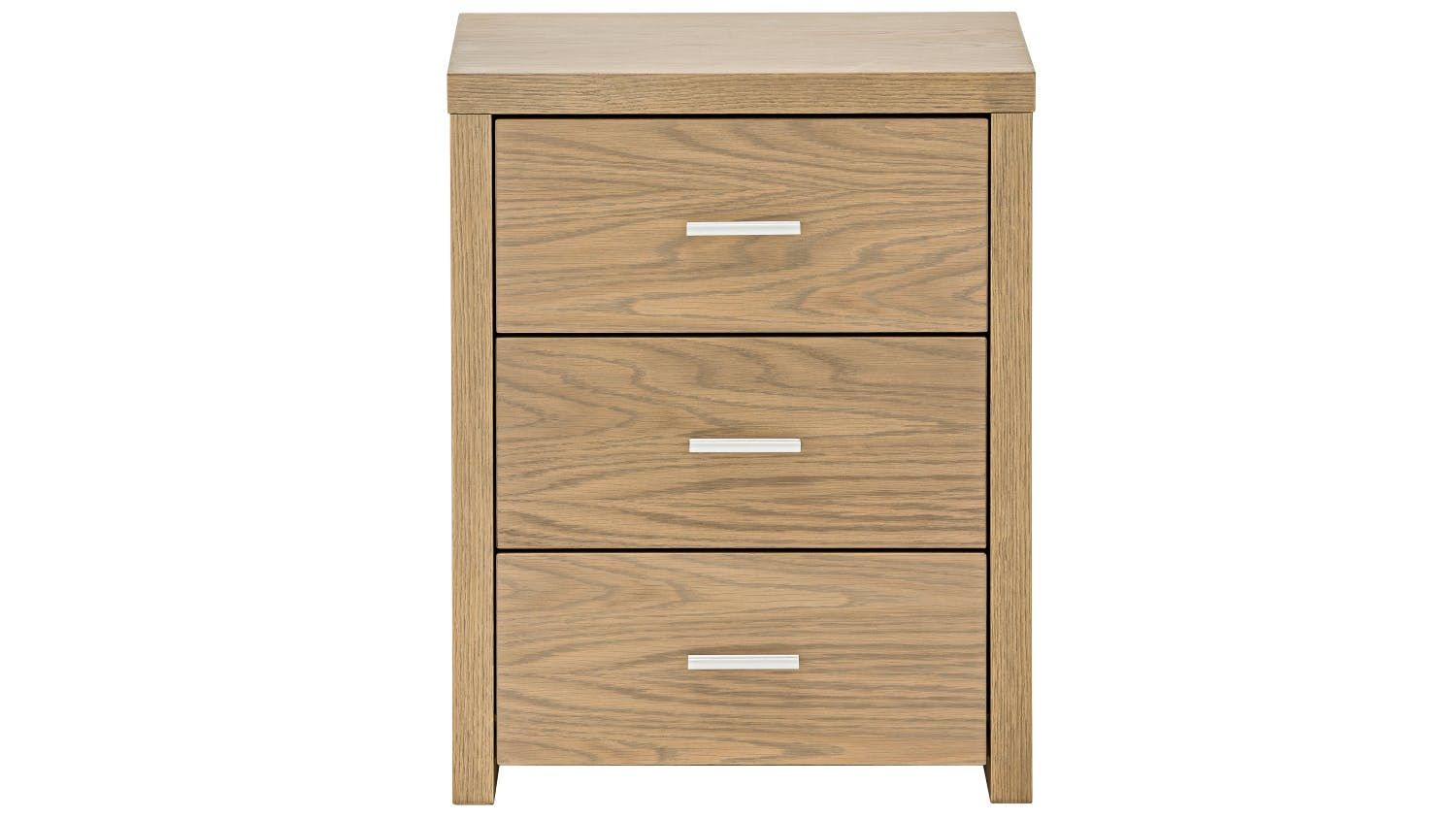 Slim 3-Drawer Bedside Table