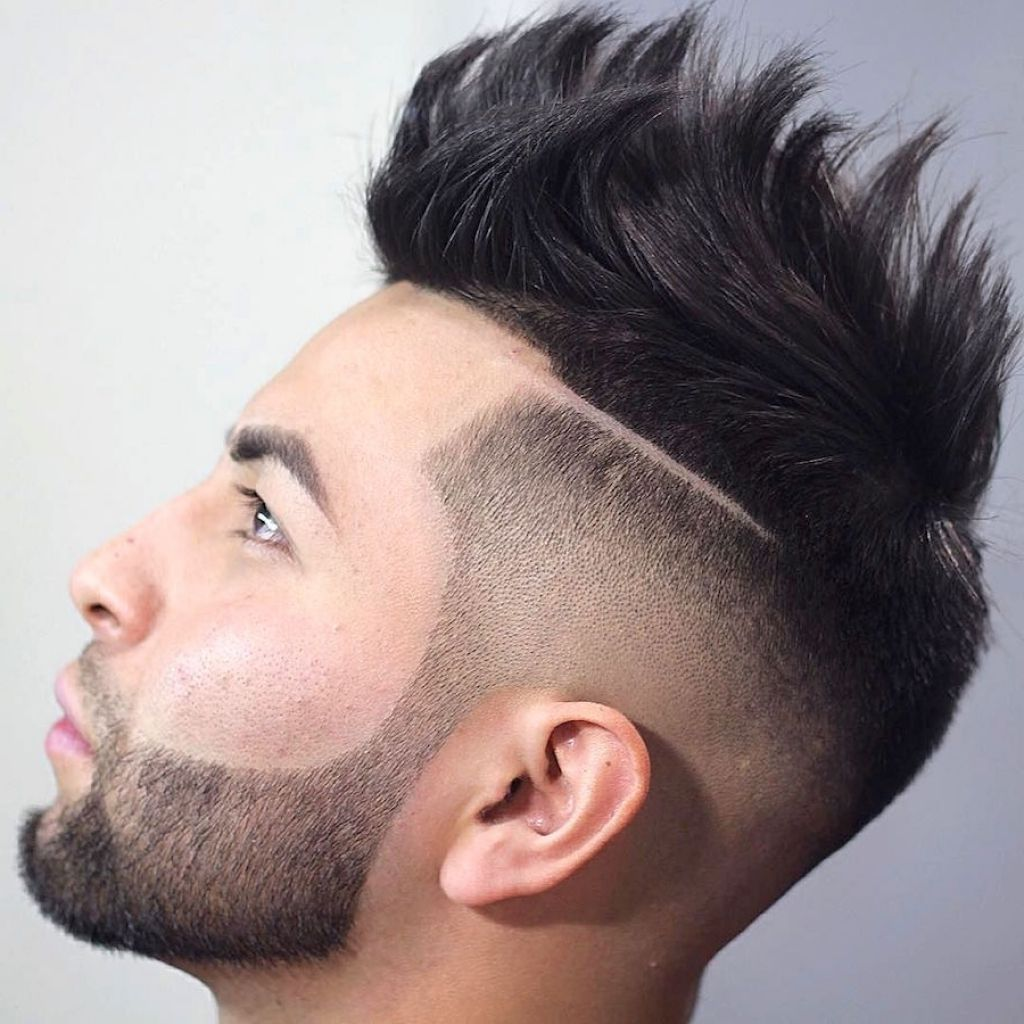 One Side Hairstyle For Man Cool Hairstyles For Men Mens