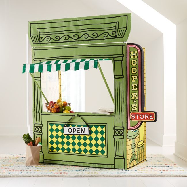 Limited Edition Hooper's Store Sesame Street Playhouse + Reviews | Crate and Barrel