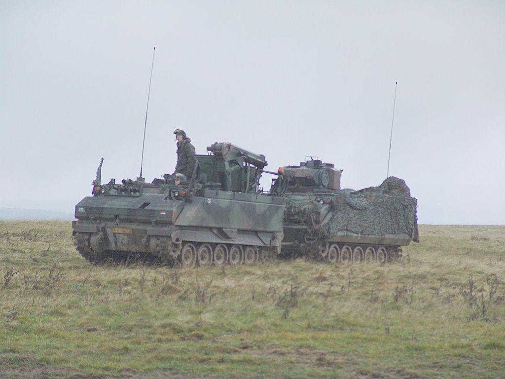 0044 nederlandse landmacht 42 Tankbataljon YPR infantry fighting vehicle Truppenübungsplatz Camp Vogelsang 2004