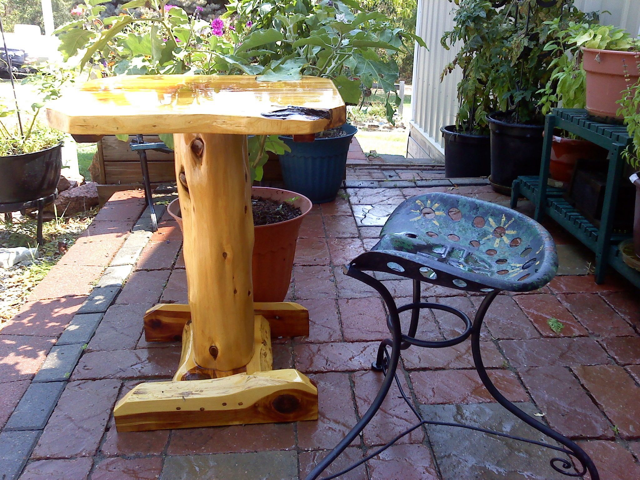 How to Protect Outdoor Wood Furniture - Cool Storage ...
