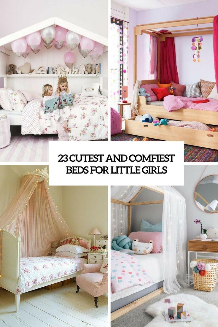 23 Cutest And Comfiest Beds For Little Girls Jetzt bestellen unter: http://www.woonio.de/ideen-zum-haus-einrichten-und-gestalten/ideen-zu-modernen-haeusern/23-cutest-and-comfiest-beds-for-little-girls/