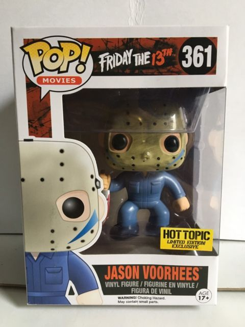Dorbz Vinyl Figure Friday The 13th Jason Voorhees Ltd Edition