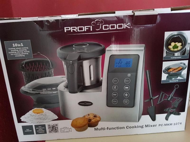 Profi Cook pc-mkm 1074 multikochmixer silber 600 watt 10 in ...