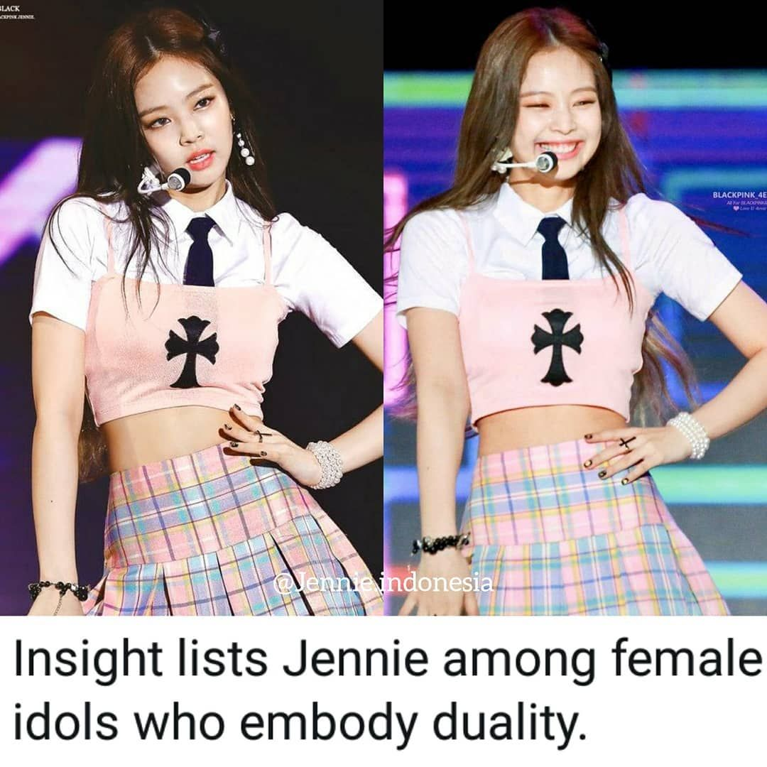 Jennie Kim On Instagram Article Insight Lists Jennie Among Female Idols Who Embody Duality She S Known For Her Powerful Per Onstage Female Performance