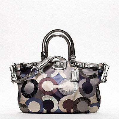 COACH MADISON GRAPHIC OP ART SEQUIN SOPHIA SATCHEL My new bag It cant get h COACH MADISON GRAPHIC OP ART SEQUIN SOPHIA SATCHEL My new bag It cant get h