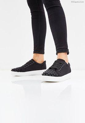 Zapatillas Zapatos Negras de Mujer Zapatos Zapatillas de moda en 2018 Pinterest 57a73d