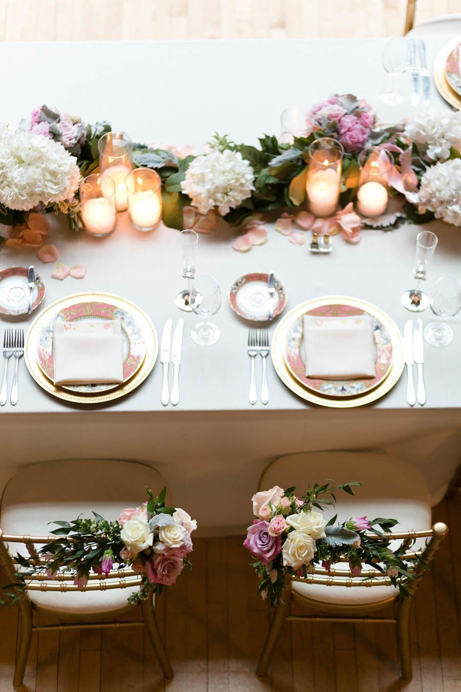 Classic elegant pink chicago wedding african and african