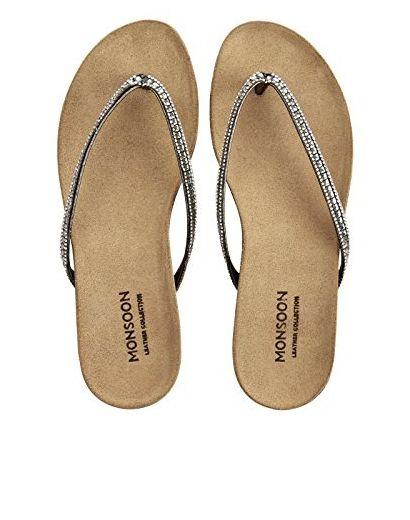 Monsoon Bluebell Sandalen Mit Fussbett Schuhe 41 Sandalen Fur Frauen Partner Link Sandalen Schuhe Fusse