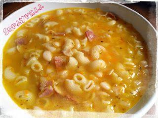 SopaYpilla: Potaje de alubias y pasta