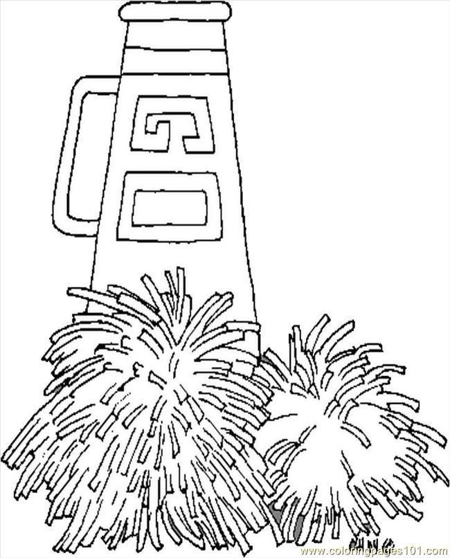 Spirit Week Coloring Page Cheerleading Locker Decorations Cheerleading Party Football Coloring Pages