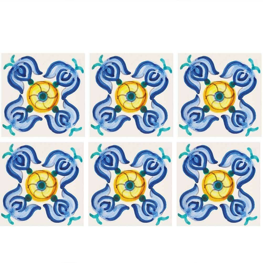 Mandala Wall Decal Pattern Geometric Indian Moroccan Bohemian Boho Decor NS300