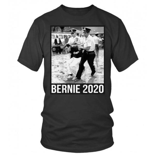 Bernie Sanders Protest Arrest T Shirt Bernie Sanders Shirts Shirts Bernie Sanders