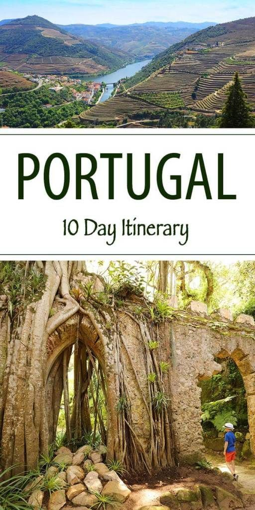 10 Days in Portugal - Trip Itinerary from Lisbon t