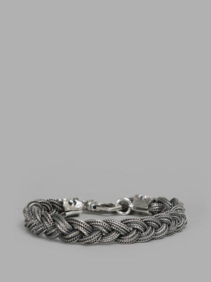 Silver Braided bracelet Emanuele Bicocchi Cheap Sale Sneakernews Outlet The Cheapest Brand New Unisex For Sale Get New Cheap Explore S3EbWvr