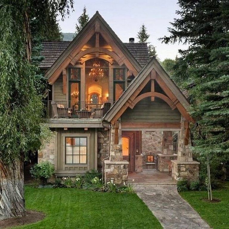 Exterior Small Home Design Ideas: 47+ Comfy Cottage Design Ideas For Fun Lives