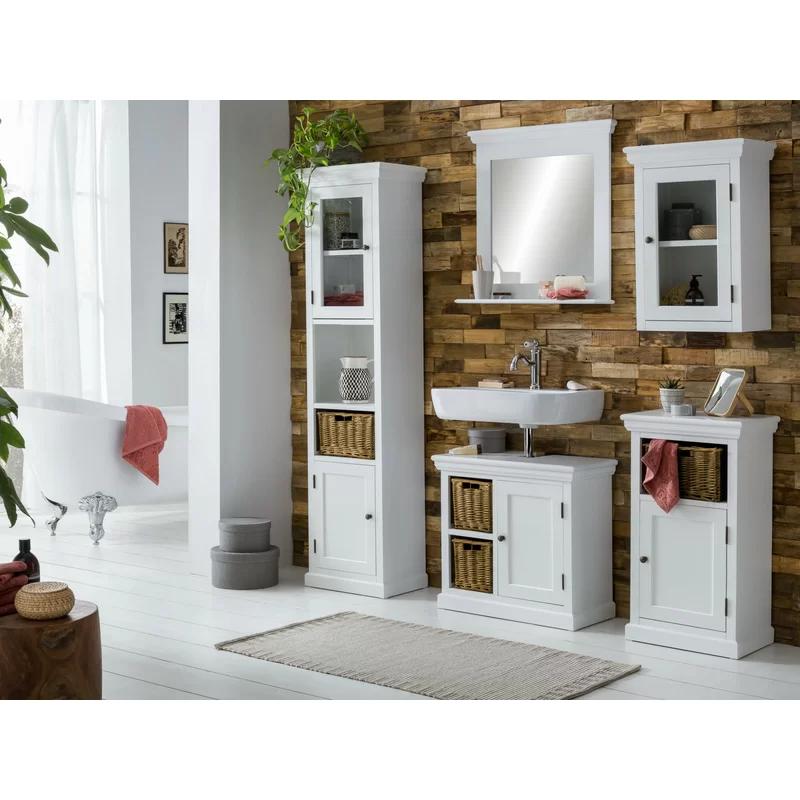 Desrochers 65cm Free Standing Under Sink Storage Unit In 2020 Under Sink Storage Unit Under Sink Storage Under Sink