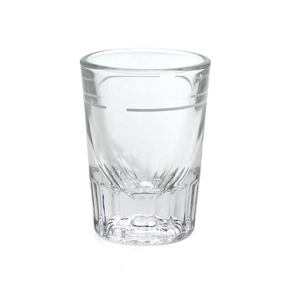 Oz Heavy Shot Glass With Line