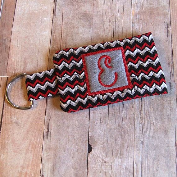 Personalized Keychain Wallet Snap N Go Froglet by FroggyGirlSews, $9.00