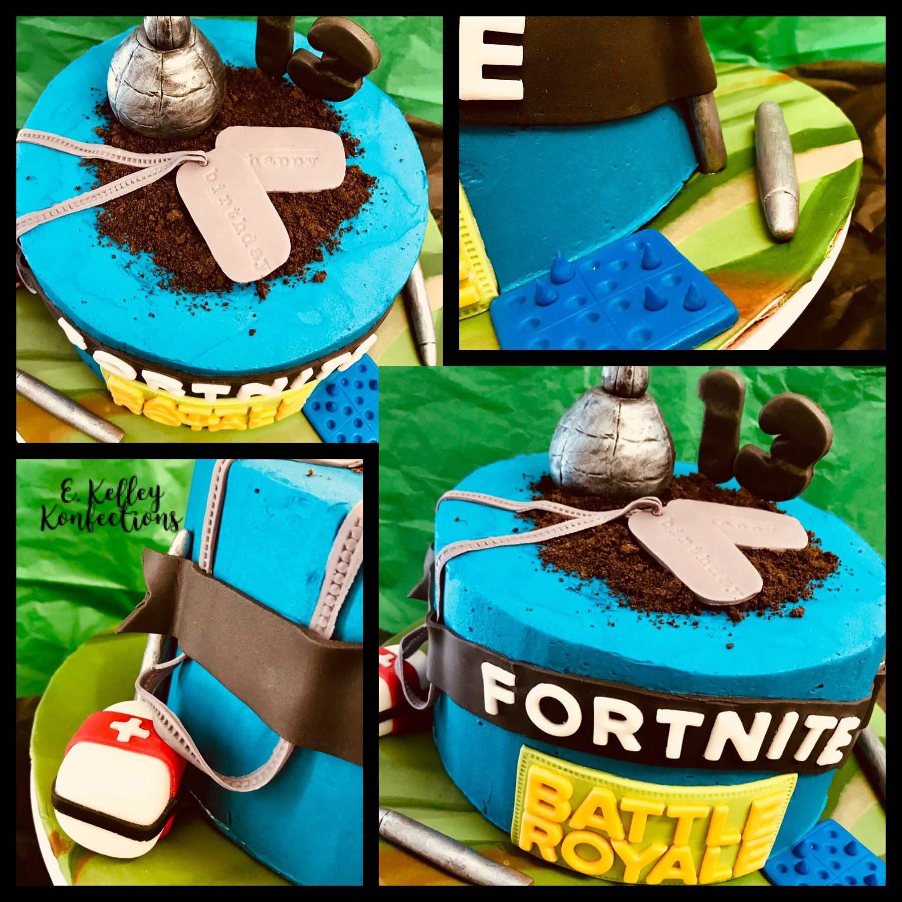 Fortnite Cake 13th Birthday Cake Teenager Birthday Cake