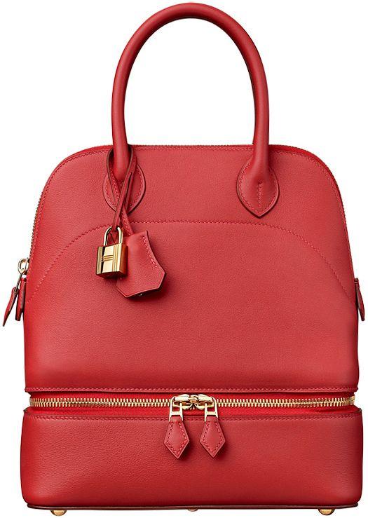 Hermes-Bolide-Double-Bottom-Bag   Hermes   Sac, Sac à Main, Hermes 95ed8376099