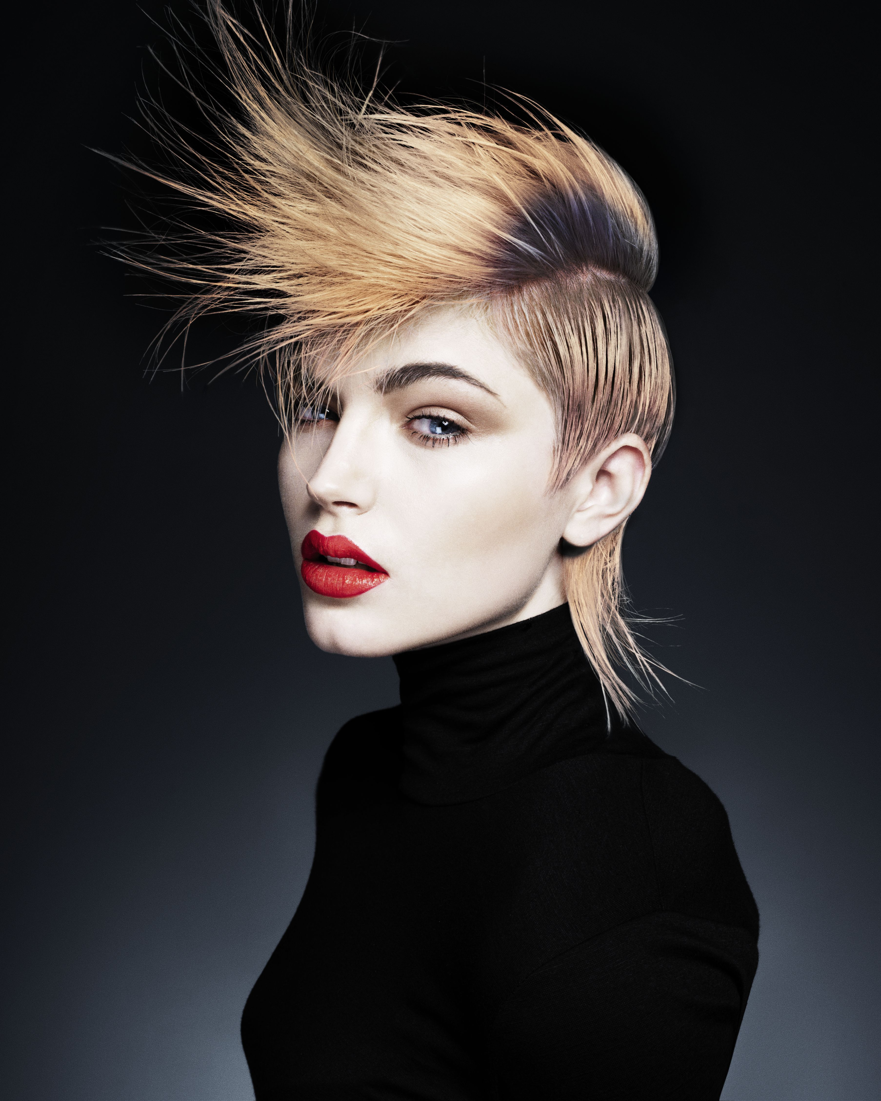 Fashion hairstyles 2015 - New Season Hairstyles To Suit You Hairstyles 2014 Woman And Home I Love This Model S Makeup And Hairstyle