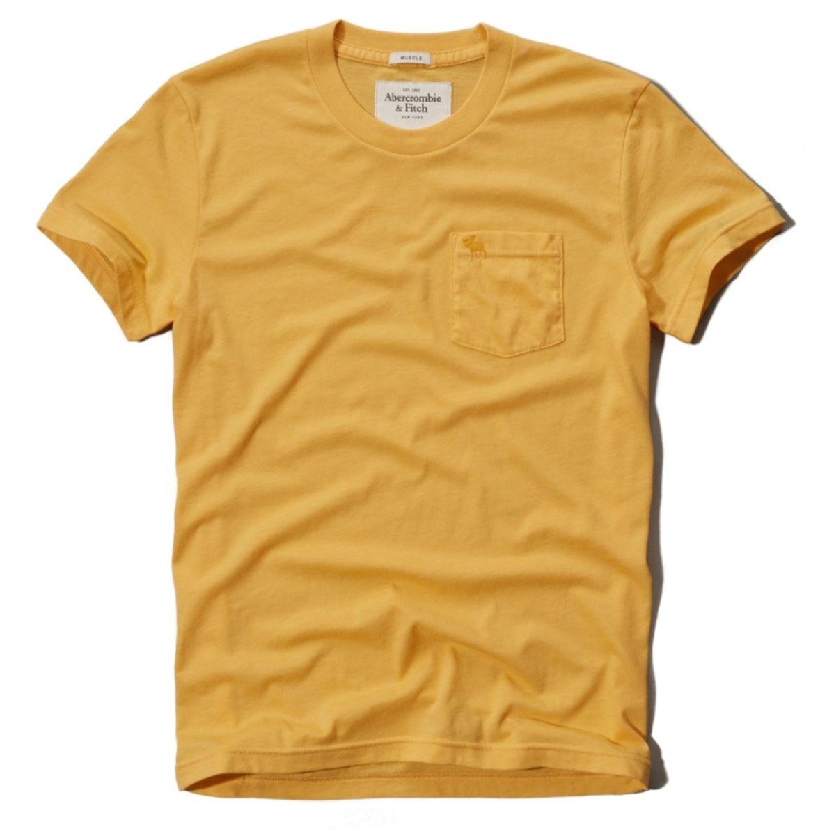 fbe9b72fa95d2 As camisetas da Abercrombie destacam-se pela qualidade do tecido ...