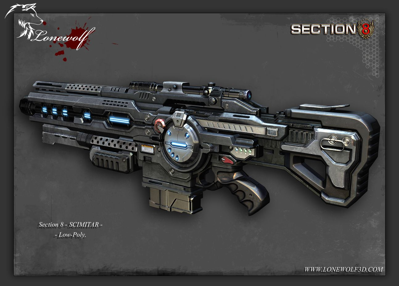 Section 8 Artwork 武器