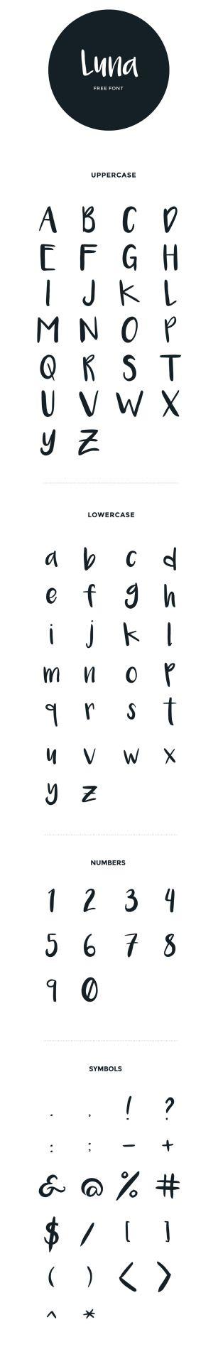 Fonts i like fonts i have fonts i want luna handwritten fonts i like fonts i have fonts i want luna handwritten brush thecheapjerseys Choice Image