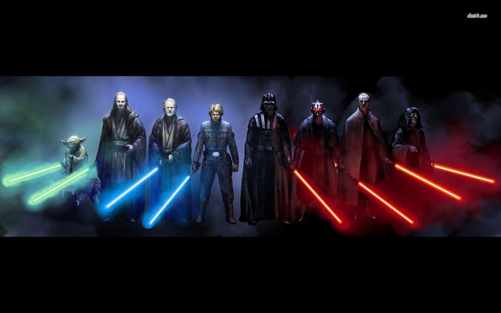 Jedi And Sith Star Wars Hd Wallpaper Star Wars Images Star Wars Pictures Star Wars Sith