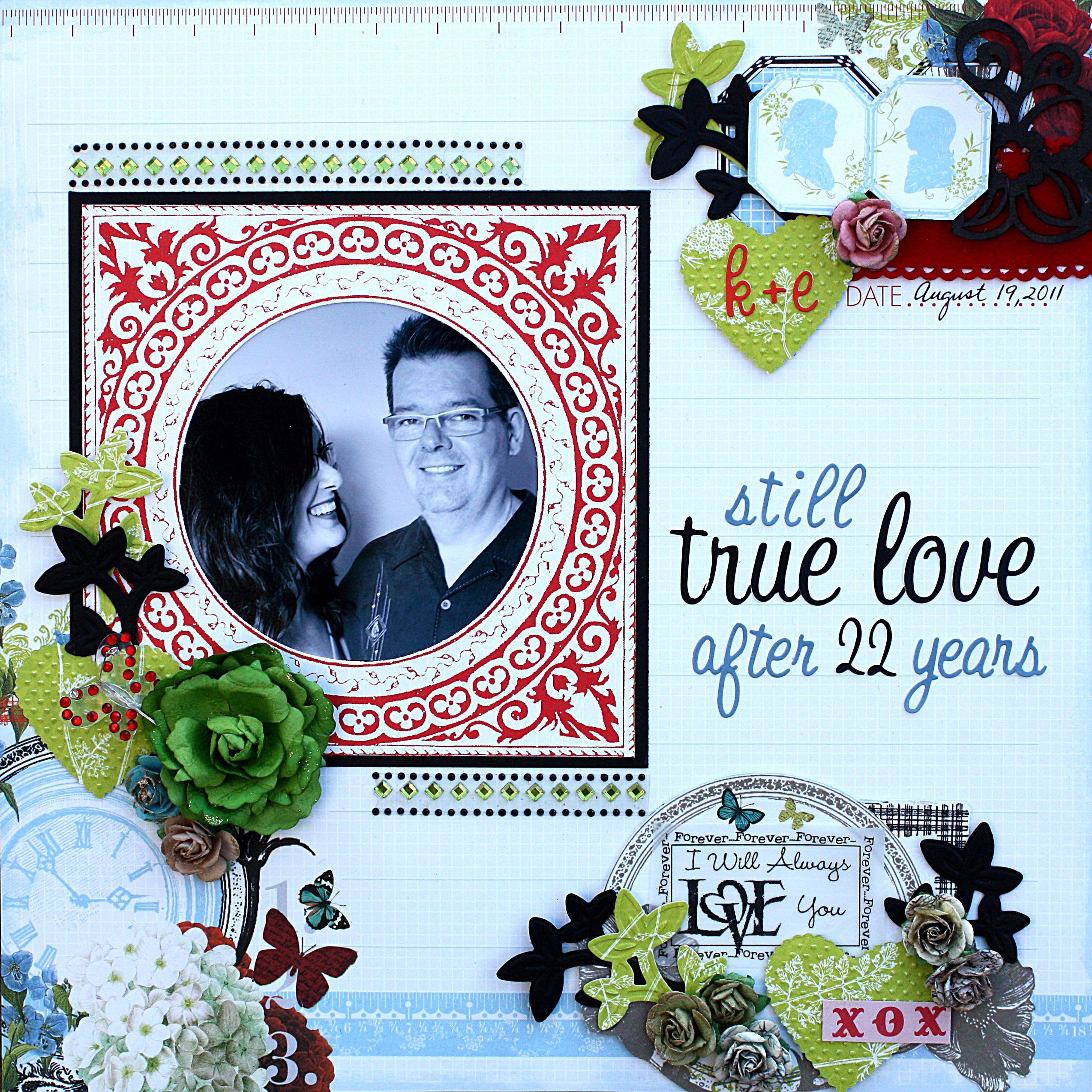 True Love Scrapbook Com Love Scrapbook Wedding Scrapbook Pages Valentines Scrapbook