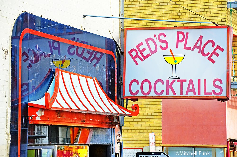 Red's Place Cocktails in Chinatown, San Francisco By Mitchell Funk  www.mitchellfunk.com