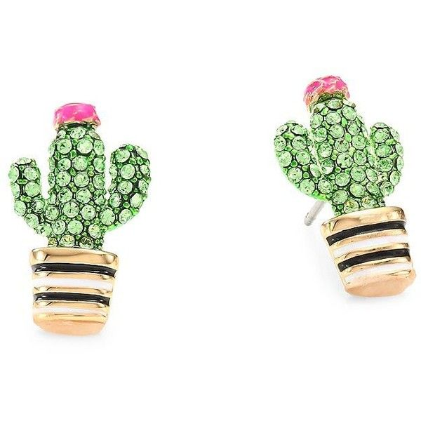 Kate Spade New York Scenic Route Cactus Stud Earrings 48 Liked
