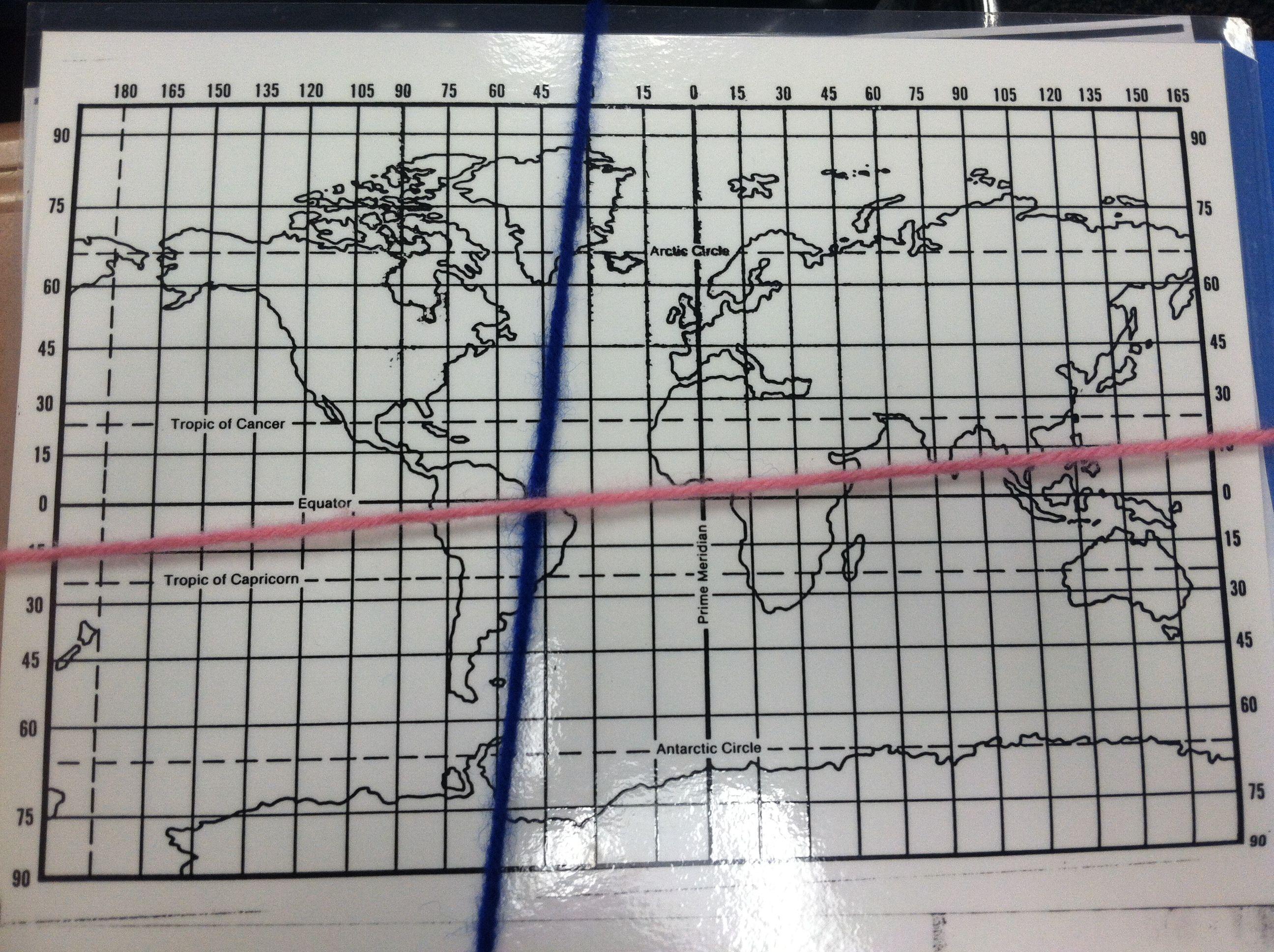 Miss O S Map Activity Longitude And Latitude