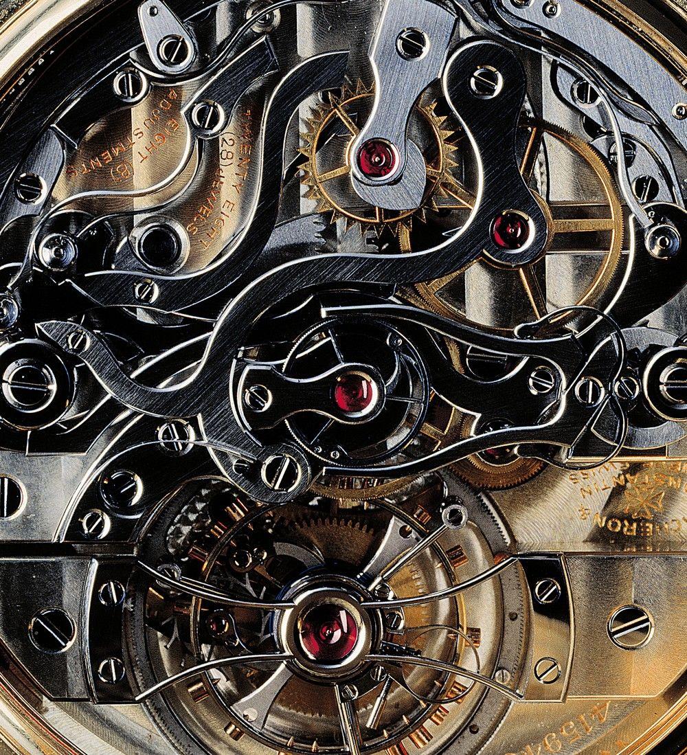 `.Vacheron Constantin Tourbillon Chronograph a Rattrapante movement.