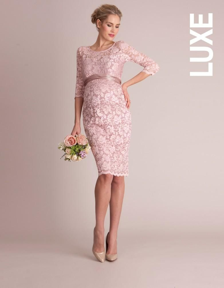 good texture look out for fast delivery Blush Lace Maternity Cocktail Dress | Winter 2015 Fashion ...