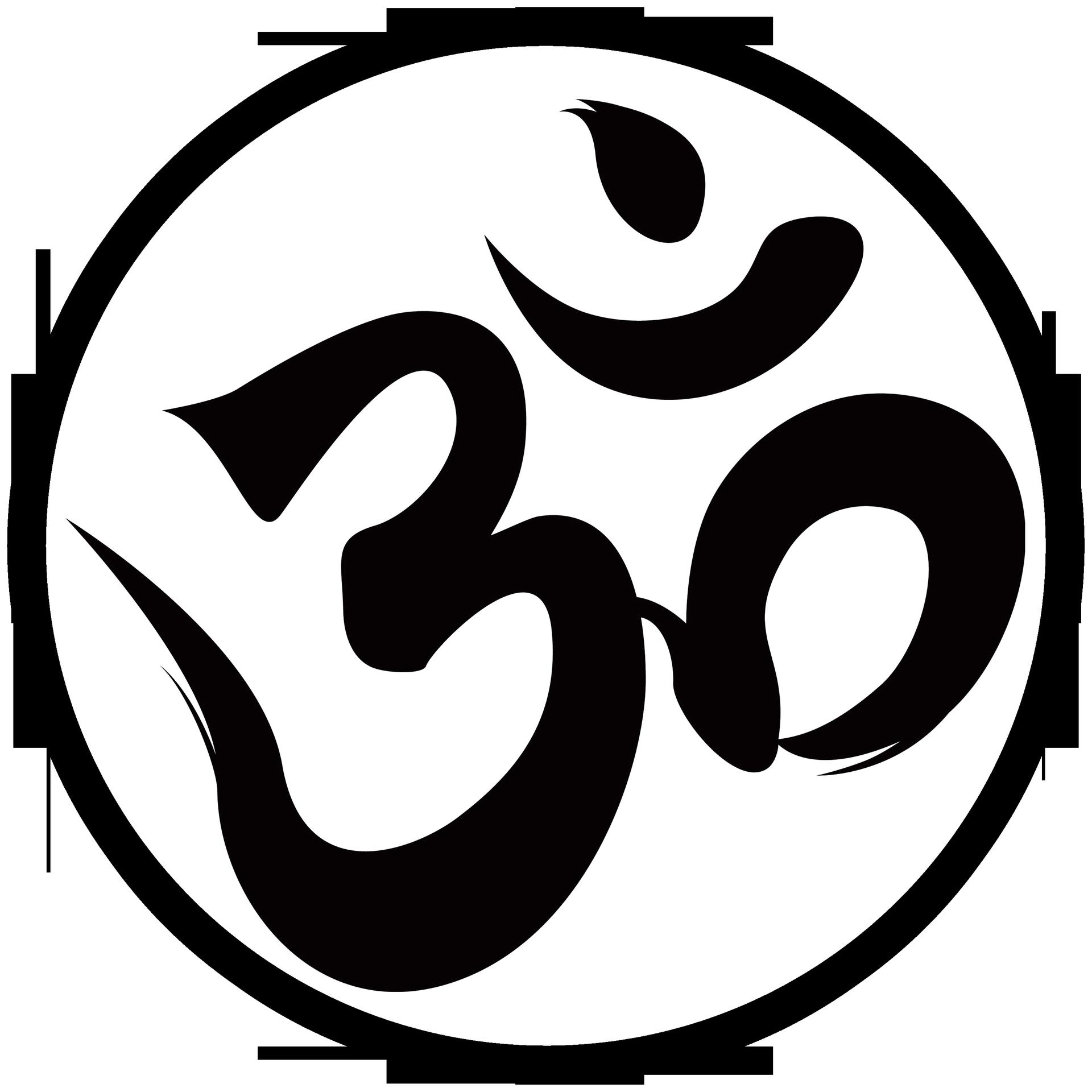 Om Logo Symbol Only Large Png 1920 1920 Om Tattoo Symbols Om Tattoo Design